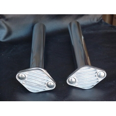Stainless Steel Dump Tubes (1 Pair)